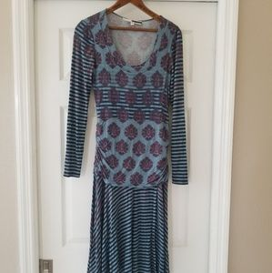 Tracy Reese mixed print dress